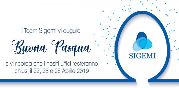 Sigemi Pasqua 2019